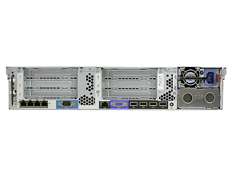 Hp Proliant Dl380p Gen8 Rack Server With 18 5 Quot Led Monitor