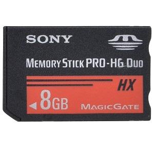 Sony MSHX8B 8GB Memory Stick PRO-HG Duo Media Card