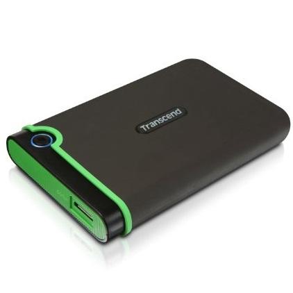 Transcend StoreJet J25M3 1TB USB 3.0 Portable Hard Drive