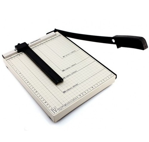 paper cutter price A paper cutter is a tool often found in offices and classrooms, designed to cut a  large set of paper sheets at once with a straight edge contents 1 history 2.
