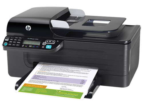 hp officejet 4500 color inkjet aio wi fi printer for office price