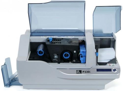 zebra p330 single sided color pvc plastic id card printer - Plastic Id Card Printer