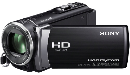 Sony HDR-CX200 Full HD 1080p Flash Memory Camcorder