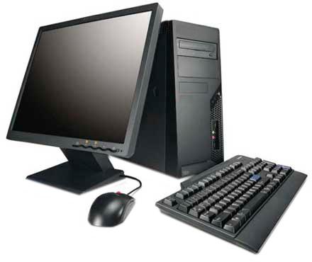 Desktop PC Intel 4th Gen i3 4GB