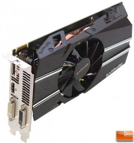 Sapphire Radeon R7 260X 2GB OC 2x DVI Video Card