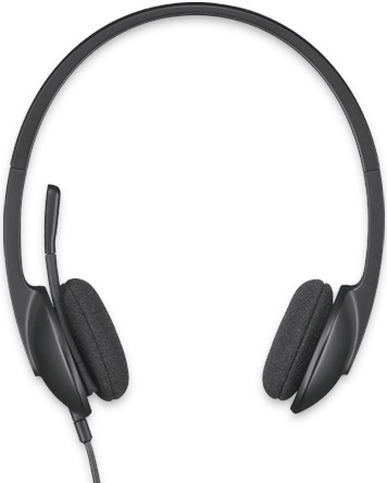 Logitech H340 Lightweight Plug-and-Play USB Headset