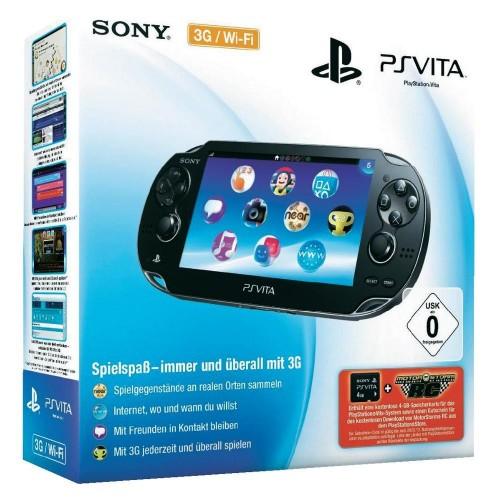 Sony PSVITA PCH-1006 Console 1000 Series 3G WiFi Game