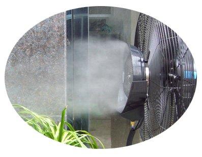 Mist Fan 35L Water Tank Heavy Duty Aluminium Blade