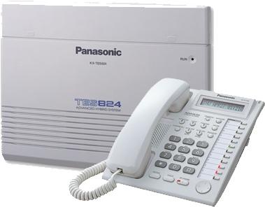 Panasonic TES824 3+8 Lines PABX Cum Intercom System
