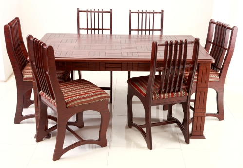 Jerin Dining Table Set With Unique Design Chair