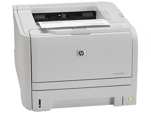 HP LaserJet P2035 Hi-Speed 266MHz Processor Laser Printer