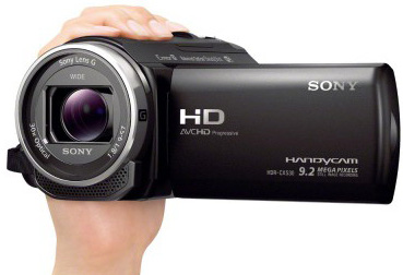 Sony HDR CX240 Handycam 27x Zoom Flash Memory Camcorder
