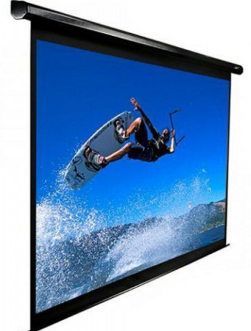 Electric Projection Screen 144 With Remote Control Price