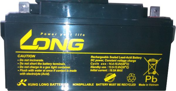 Long 12V DC 40Ah SMF Battery for Online/Offline UPS and IPS