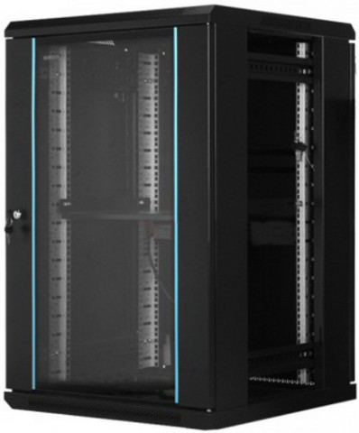 Toten WM.6615.9001 15U Wall Mount 2 Side Door Server Cabinet