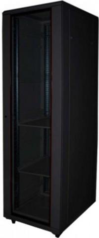 Toten 32u Push Lock Glass Solid Door Server Rack Cabinet