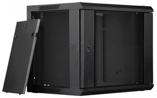 Toten W2.6609.9001 9U Wall Mount Server Rack Cabinet