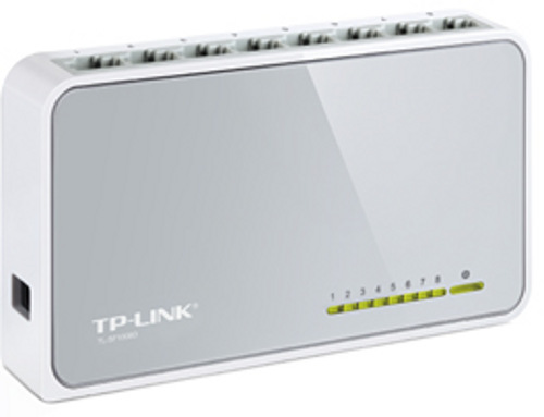 TP-LINK TL-SF1008D 8-port 10/100Mbps Desktop Network Switch