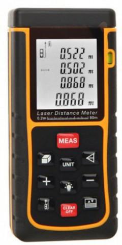 Douself 80 Meter Quick Measurement Digital Distance Meter