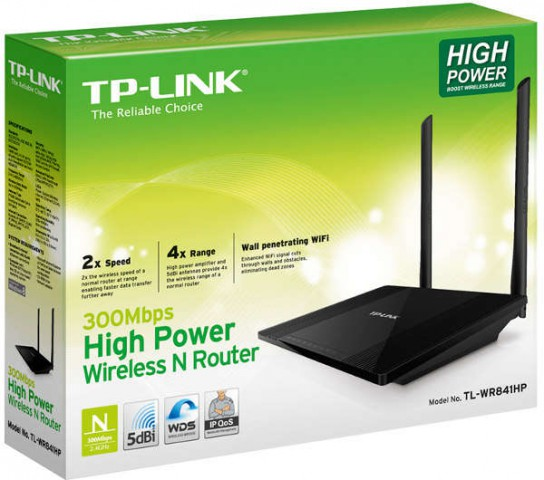 TP-Link TL-WR841HP 300Mbps WPS Wireless N Wi-Fi Router