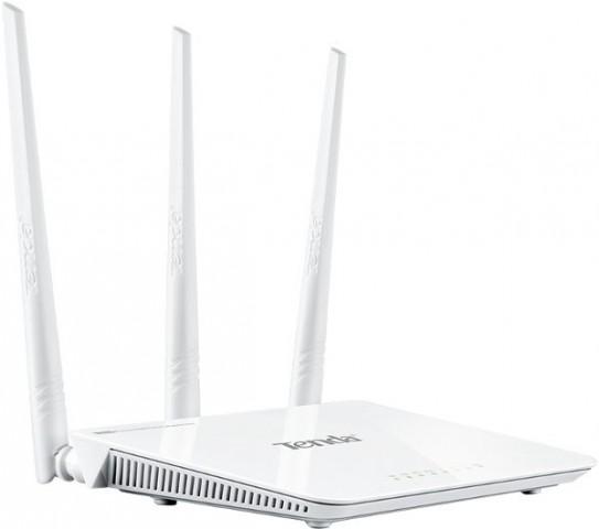 Tenda F303 N300Mbps Easy Setup 128-bit Security Wi-Fi Router