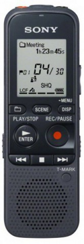 Sony 4gb Intelligent Noise Cut Playback Mp3 Voice Recorder