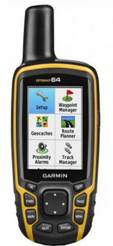 Garmin GPSMAP 64 High Sensitivity Worldwide Handheld GPS
