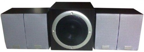 Microlab 4 1 Premium Multimedia Pc Speaker Tmn 1 Deep Bass