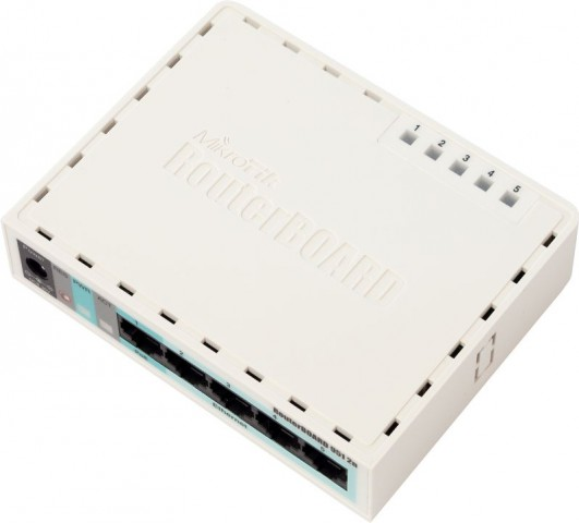 MikroTik Router Board Wireless 5 LAN Port PoE RB951Ui-2HnD