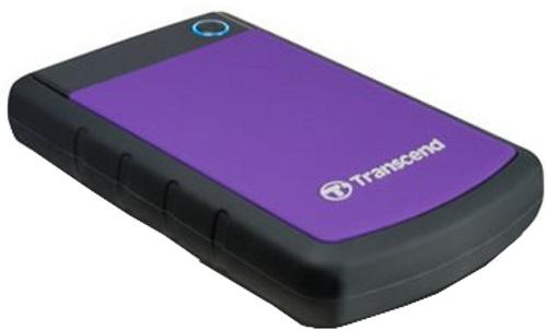 Transcend Hard Disk Drive SATA Portable 1TB USB 3.0 J25H3P