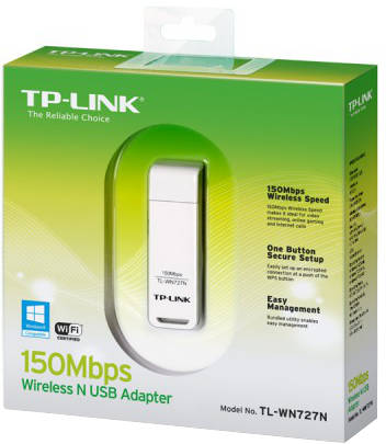 TP-Link USB Wireless Network LAN Card Adapter TL-WN727N