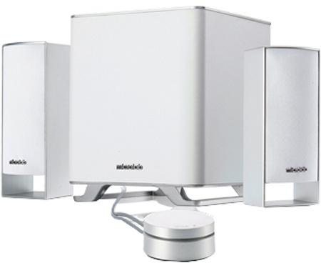 Microlab M-600 Multimedia Speaker 2.1CH Aluminium Driver