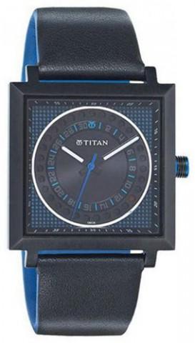 titan square watch