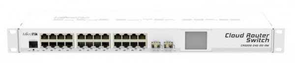 MikroTik CRS226-24G-2S+ 10G Cloud Router Network Switch