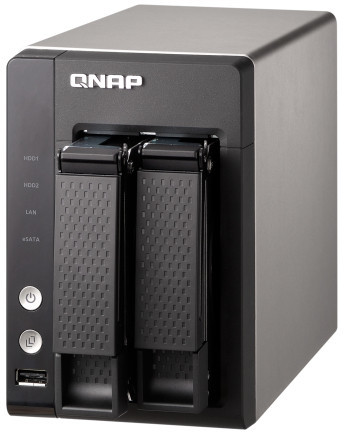 QNAP TS-221 Turbo NAS 2-Bay Cloud Diskless Network Storage