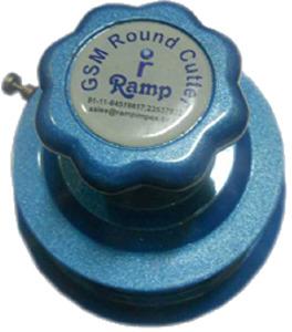 Ramp GSM Round Cutter Aluminum Body Stainless Steel Blade