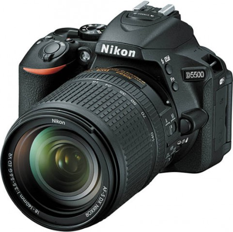 Nikon D5500 24.2 MP 18-55 Lens Full HD Digital SLR Camera