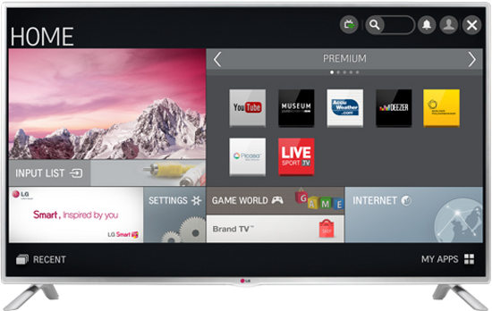 LG 42LB582 42 Inch Clear Voice II Wi-Fi Full HD Smart LED TV