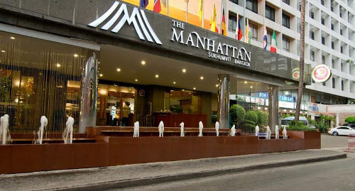 Manhattan 3 Star Triple Bed Luxury Hotel Booking in Bangkok