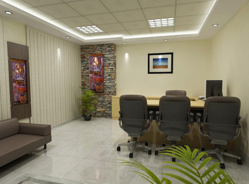 Office interior design and decoration service price for Office interior decoration services