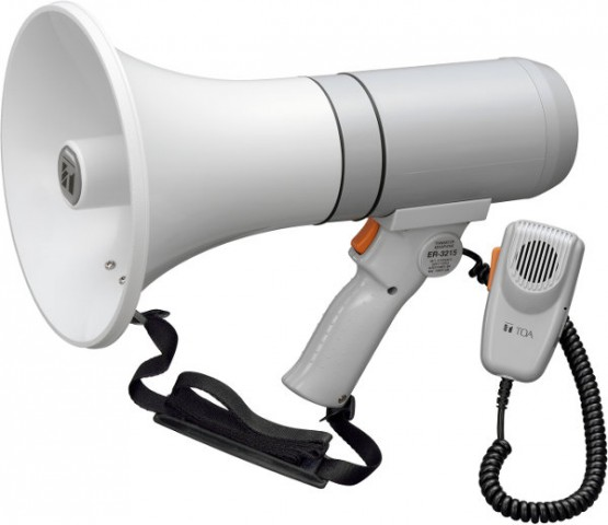 Toa 3215 15 Watt Hand Grip Portable Megaphone Sound Device