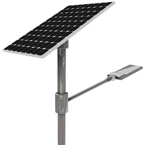 Ensysco 20 Watt 10 Feet Pole Auto On Off Solar Street