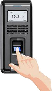 Anviz T60 Waterproof Finger and RFID Access Control Device