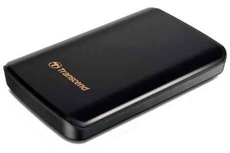 Transcend StoreJet 25D3 USB 3 1TB External Hard Disk Drive