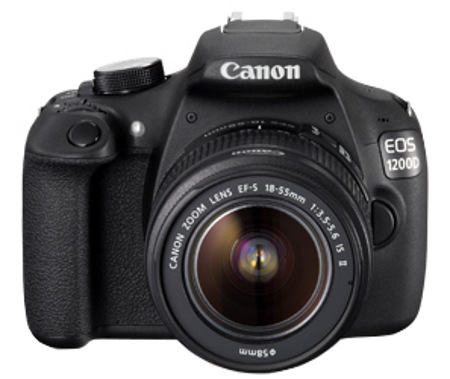 Canon EOS 1200D Digital SLR Camera with EF-S 18-55mm Lens