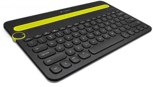Logitech K480 Type-On-Anything Universal Bluetooth Keyboard
