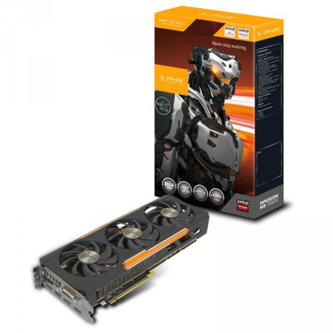 Sapphire Tri-X R9 390X 8GB D5 Graphics Card with Back Plate