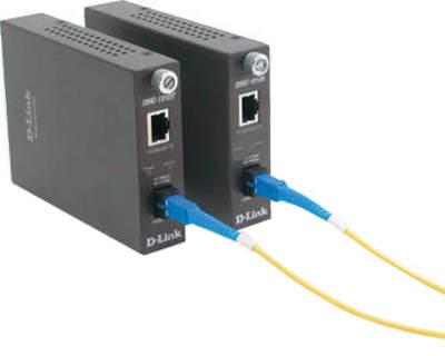 D-Link HTB-1100S Fast Ethernet Fiber Media Converter