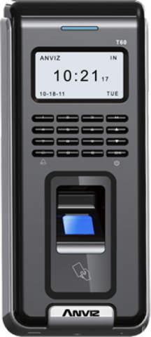 Anviz T60 Finger & RFID Access Control and Time Attendance