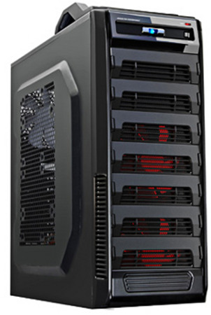Gamemax Gaming Case 9527bk Black Chassis Computer Casing